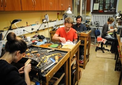 Deltakere i International Amber Workshops